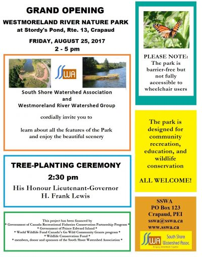 Westmoreland River Nature Park Grand Opening