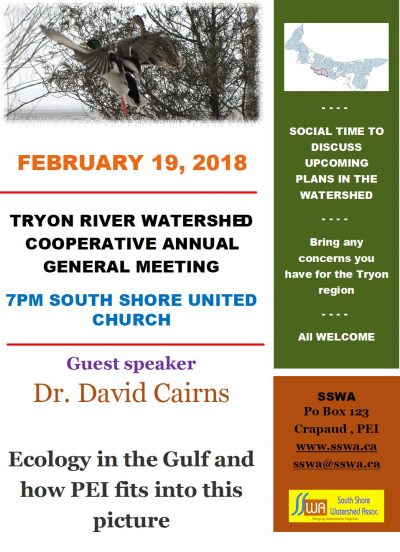Tryon AGM – Everyone invited