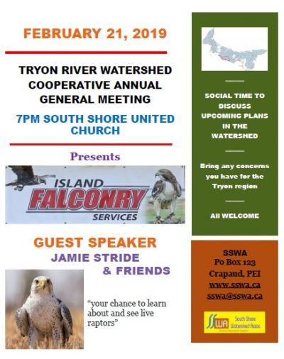 Tryon River Watershed Cooperative AGM
